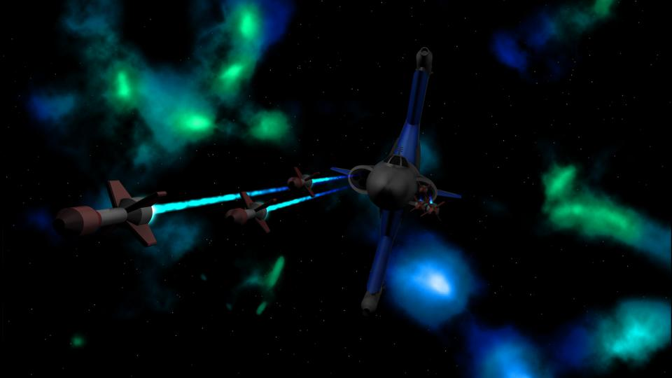The Gunboat's design was inspired by the Skipray Blastboat from StarWars. Similar to the Skipray, the wings would assume a vertical position in space, while rotating into horizontal position when landing or entering hyperspace.