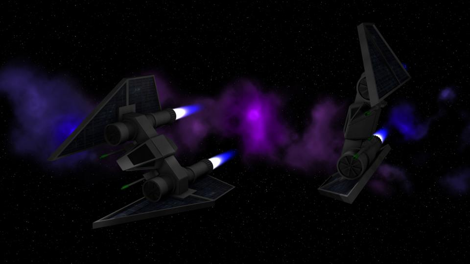 Its extremely limited range made the Defender a rare choice for players. It was more often seen as part of the defense fleet of independent planets. Players would more often hire Defenders as escorts rather than flying one themselves.