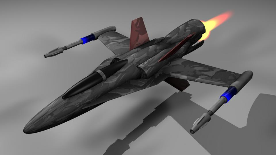 The Lightning was the best fighter a civilian could get, and it was favoured by pirates. Armed with cannons, missiles and rockets, it could be dangerous even for larger ships. However, it was quite expensive to buy. The onboard variant could only be carried aboard a Kestrel.