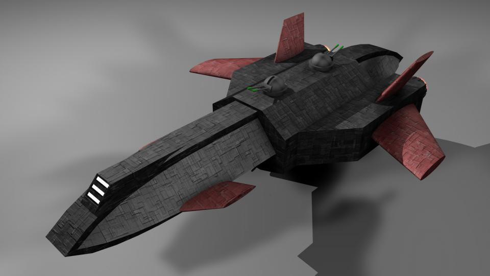 The Destroyer was the backbone of the Rebel fleet. It was actually a heavily modified and refit Argosy. That's why it was rather cheap and could be produced quickly and in large amounts. Rebel bogus companies bought these ships which were then refit in secret shipyard facilities.