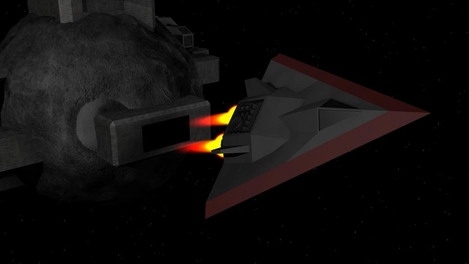 "The Manta was an old ship that had already been in service at the time of the Alien War. Later, they were discharged in favor of more modern fighters, like the Patrolship. However, several shiploads of these ships were stolen. When a Confederate ship reported an attack by ""triangular ships"", it quickly became obvious who was behind the theft."