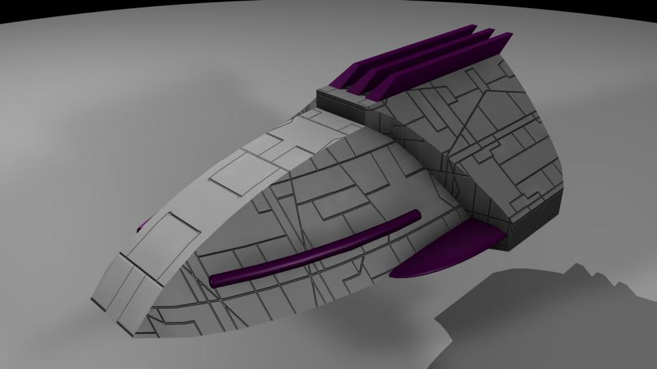 The Crescent Fighter was a very common sight throughout the Crescent. The Miranu and every other independent organization used these speedy ships as first line of defense. It should be noted that these Fighters were extremely ineffective against Voinian ships. Their phase cannons were effective against shields but did little damage to armor. There were also several modified versions of this ship.