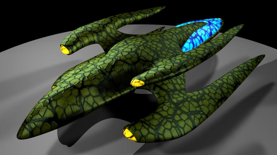 The Sirron are a species that would have appeared in Dark Swarm. Their ships are powerful organic lifeforms. Created June 2009