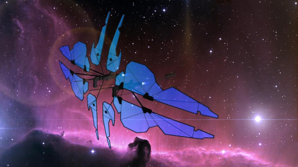 The Zephyr is an Aurora-class ship piloted by Lilihiera Ijehara. The ship was inspired by the Zephyr from EVE Online.